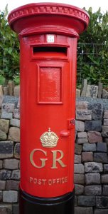 Postbox from a King George's reign