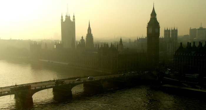 Westminster from Waterloo Bridge - source: ktylerconk via Flickr.com under the Creative Commons licence.